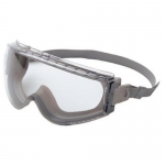 Uvex  - Stealth Safety Goggles, Gray Body, Clear Uvextreme Anti-Fog Lens, Neoprene Headband