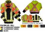 WORK KING - 3-IN-1 SAFETY BOMBER JACKET S413