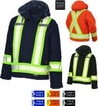WORKKING - Cotton Duck Safety Parka S457