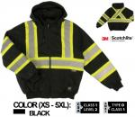 WORK KING SAFETY INSULATED SAFETY HOODIE S474