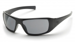 Pyramex - Goliath Black Frame w/ Gray Polarized Lens Safety Glasses