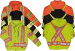 WORK KING 300D WATERPROOF/BREATHABLE RIPSTOP SAFETY BOMBER  SJ20